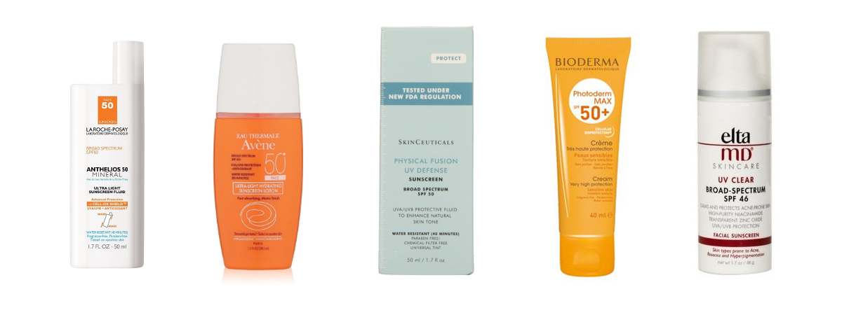 Best sun creams for the face