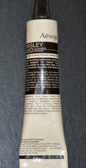 Aesop Parsley Seed- Methylisothiazolinone