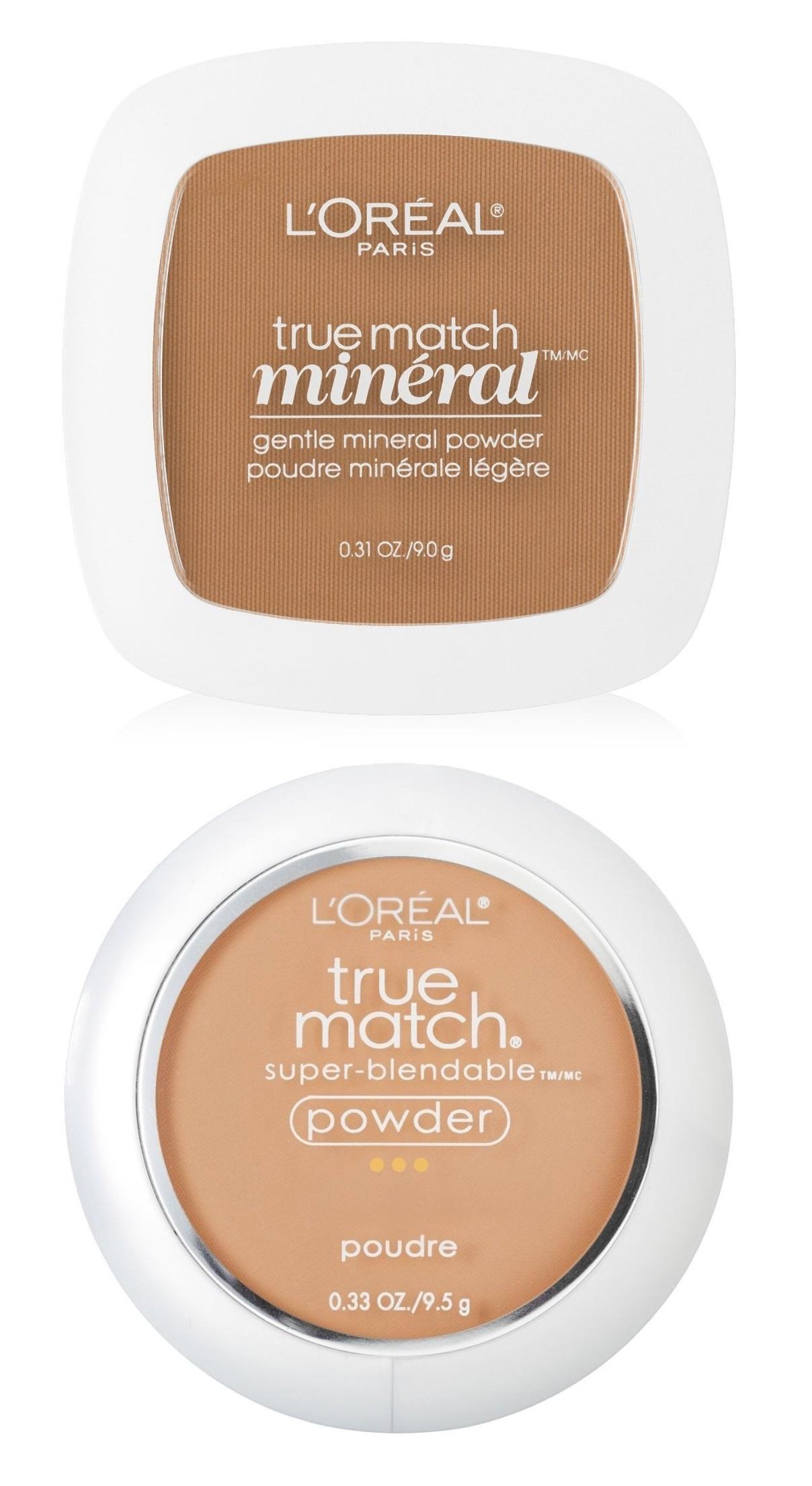 L'Oreal Paris True Match™ Minéral Pressed Powder and True Match™ Powder