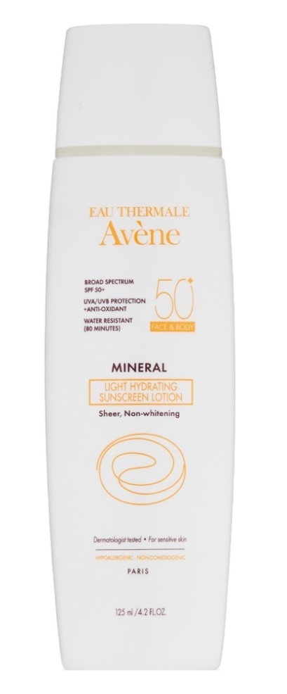 Avene Mineral Light Hydrating Sunscreen Lotion SPF50+